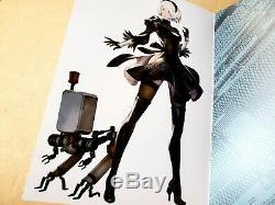 Nier Automata Black Box Collectors Edition Art Book Signed by Director Yoko Taro