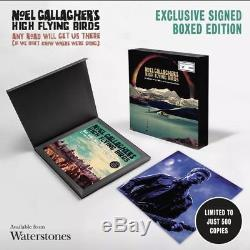 Noel Gallagher Signed Book Boxed Edition Any Road Will Get Us There Oasis Liam