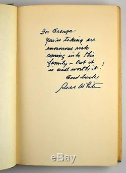 Our Virgin Island Robb White Signed 1st Edition 1953 Vintage HC Book with Jacket