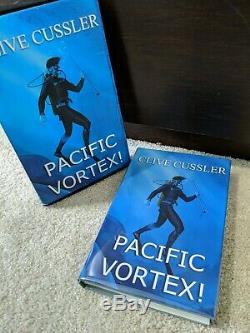 Pacific Vortex Limited Edition Signed by Clive Cussler Book Sleeve HC/DJ