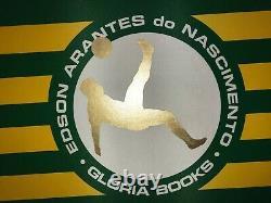 Pele Signed Book Edson Arantes do Nascimento Samba Limited Edition Autographed