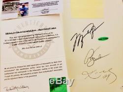 Phil Jackson 11 Rings 1st Edition Book Signed by Kobe Jordan Phil UDA