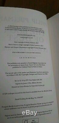 Philip Pullman Book of Dust La Belle Sauvage SIGNED special collectors edition