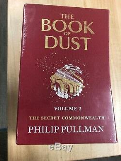 Phillip Pullman The Book Of Dust Volume 2 Exclusive Signed Edition