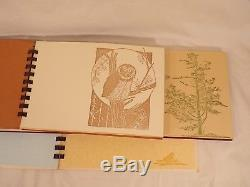 Poetry Books by Gwen Frostic Wood Block Prints Nature Some Signed First Edition