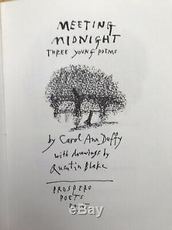 Quentin Blake SIGNED Print + Book Carol Ann Duffy 1995 1st Edition