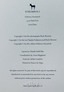 RARE! SIGNED by PAOLO ROVERSI NATALIA, limited edition of 500 copies Book