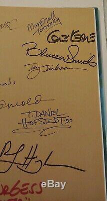 RARE Signed x15+ Walt Disney Tarzan Book Collector's Edition Glen Keane