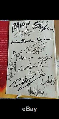 RARE double print Signed 1st Edition Order Of The Pheonix HP H/B Book Misprint