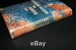 RAY BRADBURY THE MARTIAN CHRONICLES 1st First Edition SIGNED Book 1950 RARE