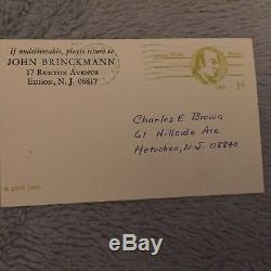 Rare 1973 The Tuckerton Railroad book by John Brinckmann (signed) 1st Edition