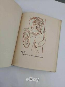 Rare Aristophanes / Pablo Picasso Lysistrata signed Book First Edition