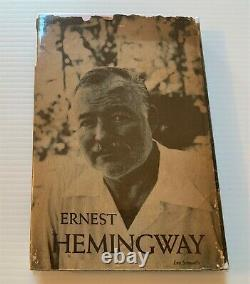 Rare Ernest Hemingway Book, The Old Man and the Sea, 1952 Early W Edition Signed