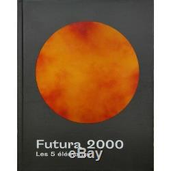 Rare FUTURA 2000 Hand Embellished Special Edition 5 Elements Book (1-of-100)