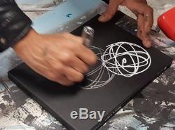 Rare FUTURA 2000 Hand Embellished and Signed Limited Edition 5 Elements Book