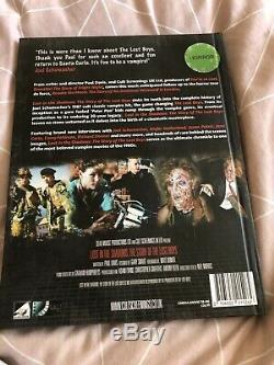 Rare Lost Boys Lost In The Shadows Book. Paul Davis Signed And Numbered Edition