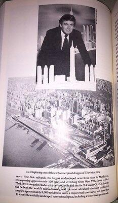 Rare SIGNED President Donald Trump Book Art Deal 2016 Certified Election Edition