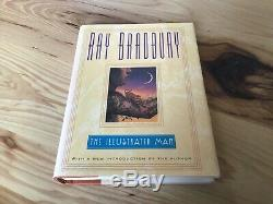 Ray Bradbury Signed Hardcover Book The Illustrated Man First Edition