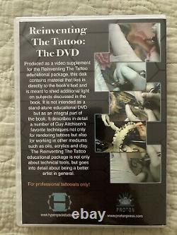 Reinventing The Tattoo, 2nd Edition Signed Copy + DVD