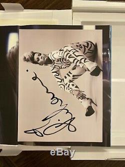 Rihanna Limited Edition Signed Book With Swarovski Crystal Monogram