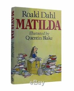 Roald Dahl and Quentin Blake Matilda First UK Edition Signed Book 1st