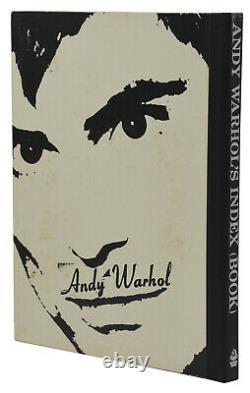 SIGNED Andy Warhol's Index Book FIRST EDITION 1st 1967 Velvet Underground WARHOL