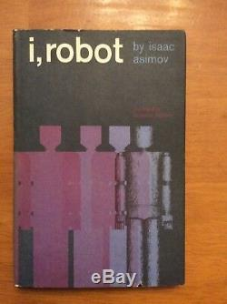 SIGNED COPY of I ROBOT by ISAAC ASIMOV BOOK CLUB EDITION HC WithDJ EXCELLENT