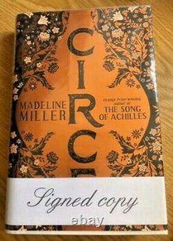 SIGNED MADELINE MILLER CIRCE 1st edition hardback book