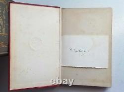 SIGNED Rudyard Kipling First Edition Rare Book SET Seven Seas Stalky Naulahka