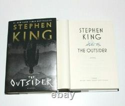 STEPHEN KING SIGNED'THE OUTSIDER' 1ST/1ST FIRST EDITION PRINTING BOOK withCOA