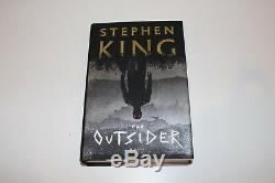 STEPHEN KING SIGNED'THE OUTSIDER FIRST 1ST EDITION HARDCOVER HC BOOK withCOA