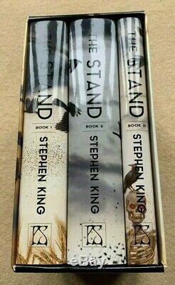 STEPHEN KING THE STAND Ltd EDITION SIGNED ILLUSTRATED 3 BOOK SET PS PUBLISHING