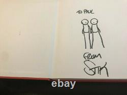 STIK book Rare-handmade Signed Art Doodle Sketch/1st edition & signed poster
