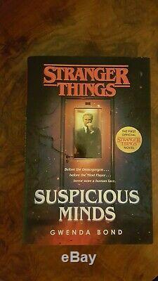 STRANGER THINGS RARE Signed Book, Ltd Edition Polariod Camera & Film Bundle