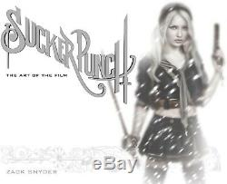 SUCKER PUNCH-LIMITED EDITION ART BOOK (750)-SNYDER/PARDEE SIGNED-NEWithRARE/OOP