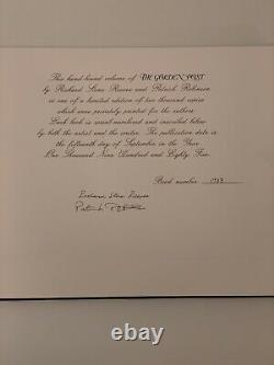 Secretariat The Golden Post Book Richard Stone Reeves Limited Edition Signed