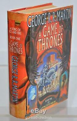 Signed A GAME OF THRONES George R R Martin 1st Printing U. K. BOOK CLUB EDITION