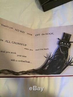 Signed And Numbered First Edition Mister Babadook Pop Up Book Rare Collectable