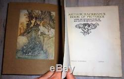 Signed Arthur Rackham Book Of Pictures, Limited Edition, 44 Colour Plates