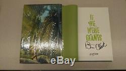 Signed Book Dave Matthews If We Were Giants Limited Edition Numbered 1/1 Band