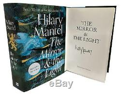 Signed Book The Mirror and the Light by Hilary Mantel First Edition 1st Print