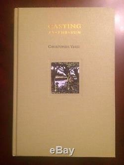 Signed CASTING AT THE SUN Chris Yates Carp Fishing Book MEDLAR LIMITED EDITION
