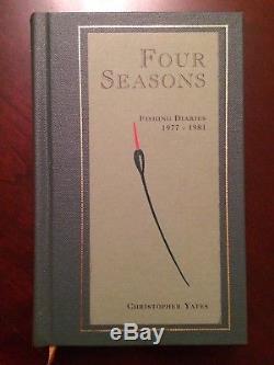 Signed FOUR SEASONS Chris Yates Fishing Book Carp Limited Edition Redmire Pool