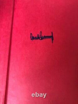 Signed & First Edition, President Donald Trump Surviving At Top Autographed Book