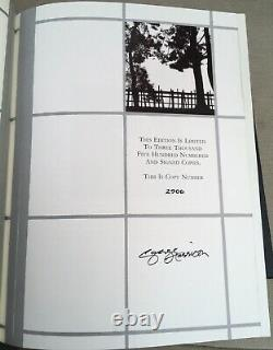 Signed George Harrison Live In Japan Genesis Publications Limited Edition Book
