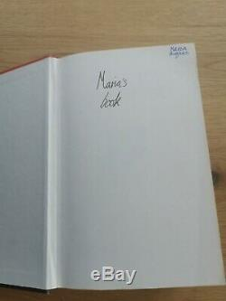 Signed Harry Potter and the Goblet of Fire, J. K. Rowling 1st Edition