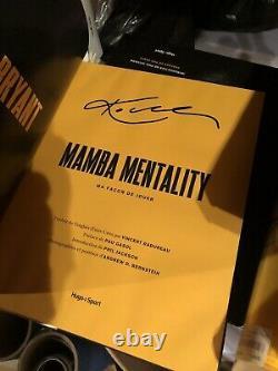 Signed Kobe Bryant Mamba mentality hardback book. Rare. NBA, m. French edition