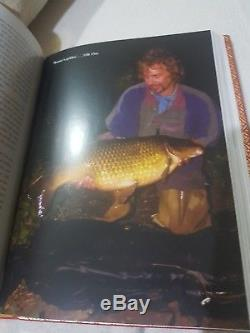 Signed Limited Edition Leatherbound Carp Fishing Book Colne Mere Black Mirror