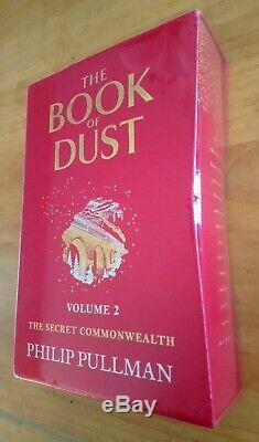 Signed Limited Edition The Book Of Dust Vol 2 Secret Commonwealth Philip Pullman