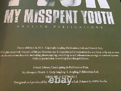 Signed MY MISSPENT YOUTH Darrell Peck Carp Fishing Book 2011 First Edition
